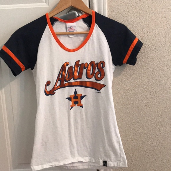 new product 34dfb 8c2bf astros womens shirt